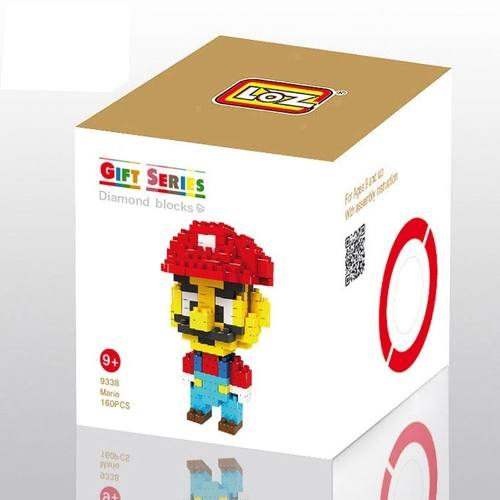 Super Mario Bros - Bloco De Montar Loz