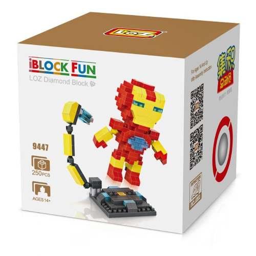 Iron Man - Bloco De Montar Loz