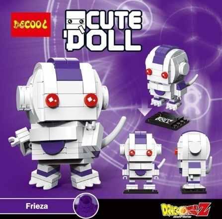 Bloco De Montar Decool Cute Doll Freeza Dragon Ball
