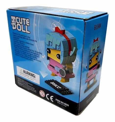 Bloco De Montar Decool Cute Doll Bulma Dragon Ball