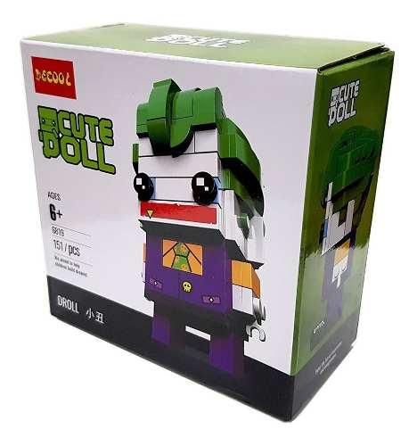 Bloco De Montar Decool Cute Doll Joker Coringa Dc