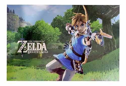 Kit 4 Poster A3 Link The Legend Zelda Alta Qualidade Textura