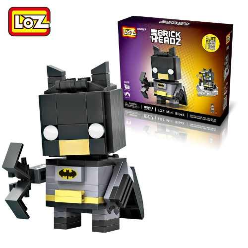 Bloco De Montar Batman Loz Brick Headz