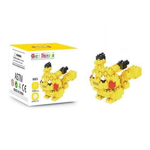 Bloco De Montar Pokemon Pikachu Lno Gift Series