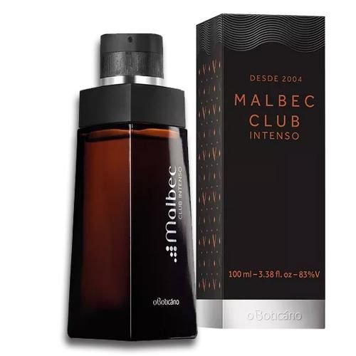Perfume Malbec Club Intenso Deo Colonia 100ml - O Boticario