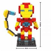 Iron Man - Bloco De Montar Loz