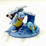 Pokemon Squirtle Nº 007 E Blastoise Nº 009 Pokémons T Arts