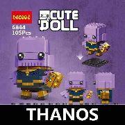 Bloco De Montar Decool Cute Doll Thanos Vingadores Avengers