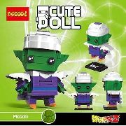 Bloco De Montar Decool Cute Doll Piccolo Dragon Ball