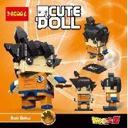 Bloco De Montar Decool Cute Doll Goku Dragon Ball