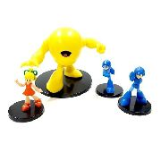 Kit Com 4 Bonecos Mega Man Capcom