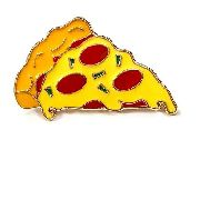 Pin Boton Broche Comida Hamburguer Pizza Limonada Food