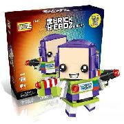 Bloco De Montar Buzz Lightyear Toy Story Loz Brick Headz