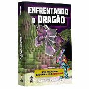 Livro Minecraft Enfrentando O Dragão Mark Cheverton