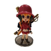 Boneco Nami Action Figure Estátua One Piece Red