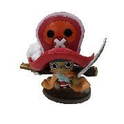 Boneco Tony Chopper Action Figure Estátua One Piece Red