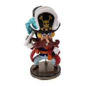 Boneco Usopp Sogeking Action Figure Estátua One Piece Red