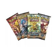 Kit Com 10 Booster Pokemon Xy Cerco De Vapor = 50 Cards