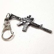 Chaveiro Arma Cross Fire Guns Metal Modelo 06