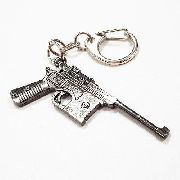 Chaveiro Arma Cross Fire Guns Metal Modelo 08