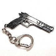 Chaveiro Arma Cross Fire Guns Metal Modelo 09