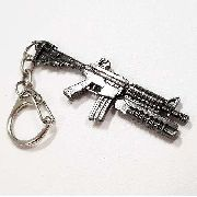 Chaveiro Arma Cross Fire Guns Metal Modelo 23