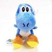 Pelúcia Yoshi Azul - Coleção Super Mario