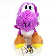 Pelúcia Yoshi Roxo - Coleção Super Mario Bros