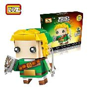 Bloco De Montar The Legend Zelda Link Loz Caixa Brick Headz