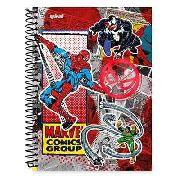 Caderno Marvel Original Spiral 96 Folhas Lacrado Novo