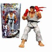Ryu Street Fighter Iv - Ryu Branco 18cm Neca Articulado