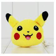 Chaveiro Pikachu Pelúcia Plush Kawaii 8cm