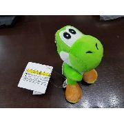 Chaveiro Yoshi Super Mario Bros 13 Cm Pelúcia
