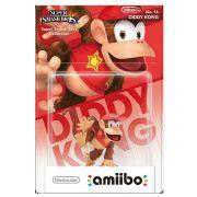 Amiibo Original Pronta Entrega Diddy Kong Smash Bros Lacrado