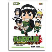 Revista Manga Rock Lee E A Primavera Da Juventude N°1