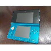 USADO Nintendo 3ds Aqua Blue Na Caixa + Brinde Surpresa