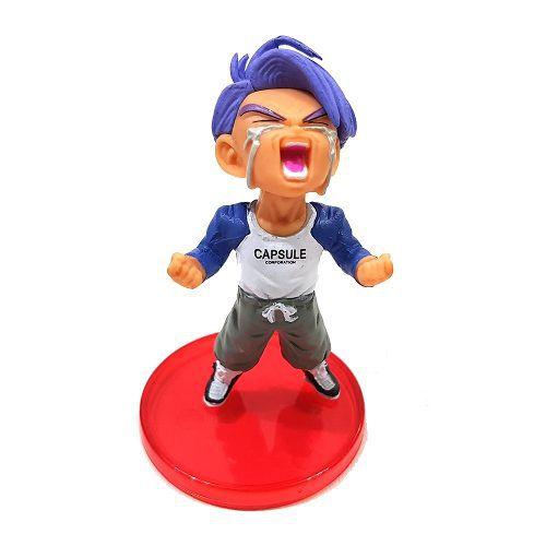 Trunks Chorando Boneco Dragon Ball Action Figure