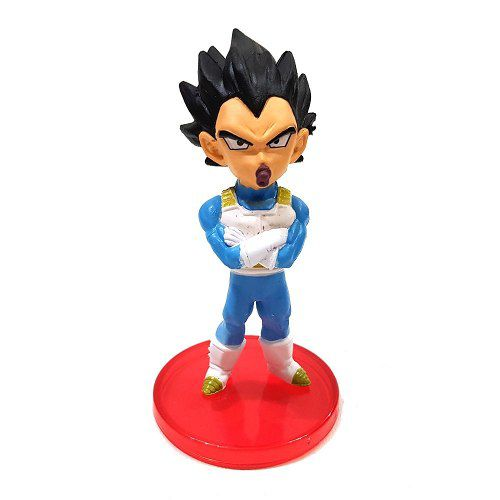 Vegeta Chupeta Boneco Dragon Ball Action Figure