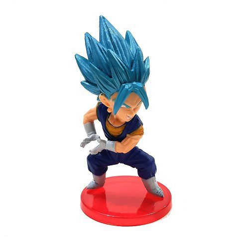 Vegeta Blue Azul Boneco Dragon Ball Action Figure