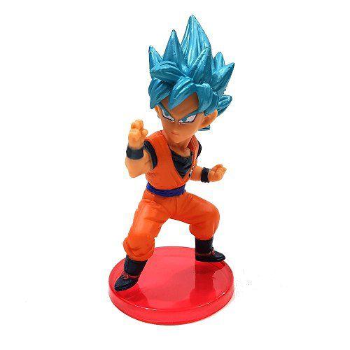 Goku Blue Azul Boneco Dragon Ball Action Figure