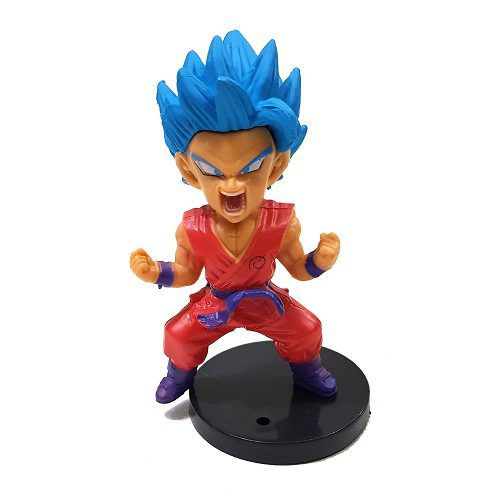Goku Azul Dragon Ball Super Action Figure