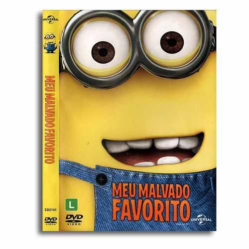 Meu Malvado Favorito Animação Dvd Filme
