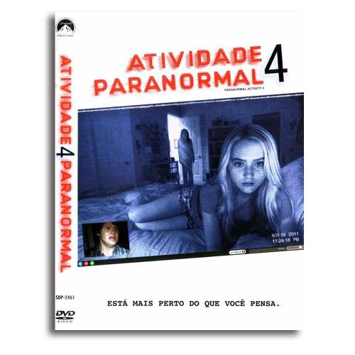 Atividade Paranormal 4 Dvd Filme Terror