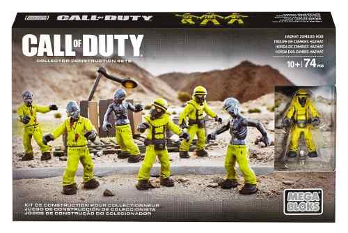 Bloco De Montar Call Of Duty Megabloks 74 Pç Original Hazmat