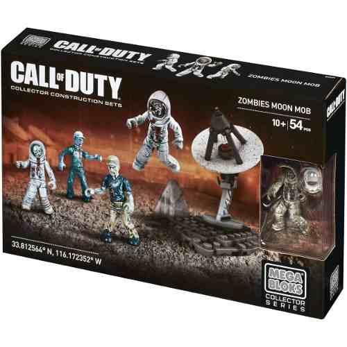 Bloco De Montar Call Of Duty Megabloks 54 Pç Original Moon