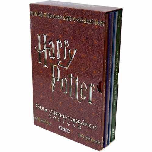 Livro Harry Potter Guia Cinematográfico Coleção Set Lacrado