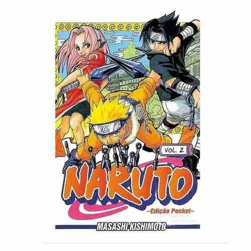 Naruto Pocket N° 2 Manga Panini Shonen Jump