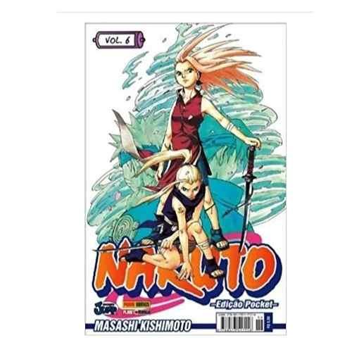 Naruto Pocket N° 6 Manga Panini  Shonen Jump