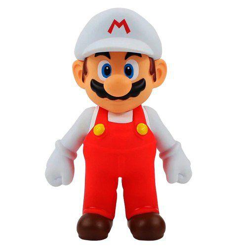 Super Mario Bros Branco - Fogo Banpresto