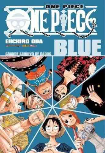 Revista Manga Livro One Piece Blue Azul Grande Arquivo de Dados